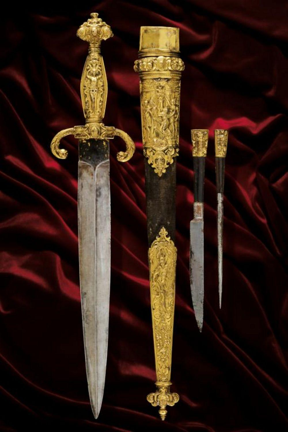 An outstanding and extremely rare Renaissance dagger