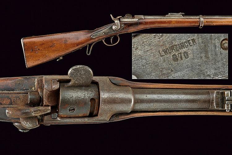 A 1867 Model Werndl Infantry Rifle