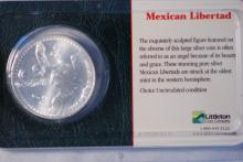Mexican Libertad 1ozt Silver Round