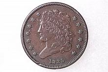 1835 Classic Half-Cent - VF