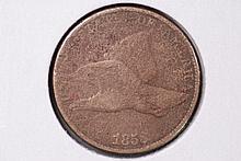 1858 (sl) Flying Eagle Cent - G Details