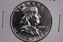 1955 Franklin Half Dollar - Proof