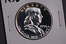1956 Franklin Half Dollar - Proof