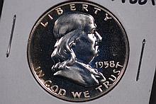 1958 Franklin Half Dollar - Proof
