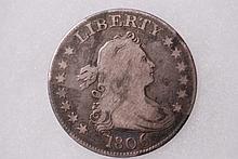 1806 Draped Bust Quarter - VG