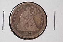 1876 Seated Liberty Quarter - G