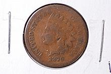 1879 Indian Head Cent - VG