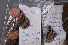 Bidder's Choice (2) Rolls of Indian Head Cents