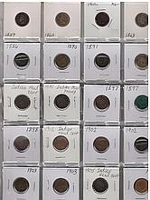 1859-1907 (n/c) Indian Head Cent Lot