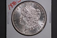 1880-S Morgan Silver Dollar - Gem BU