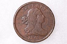 1808 Draped Bust Half-Cent - VF