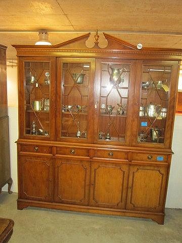 Yewwood Bookcase Cabinet