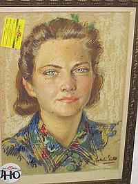 Natalie Field Pastel (1898-1977)