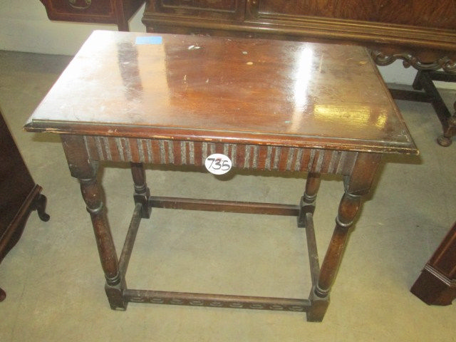 1930 39 S Oak Occasional Table