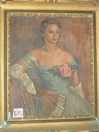 Natalie Field Oil Painting (1898 -1977)
