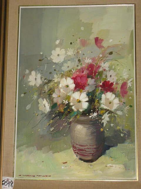Wessel Marais Oil Painting (1935-2009) Still Life