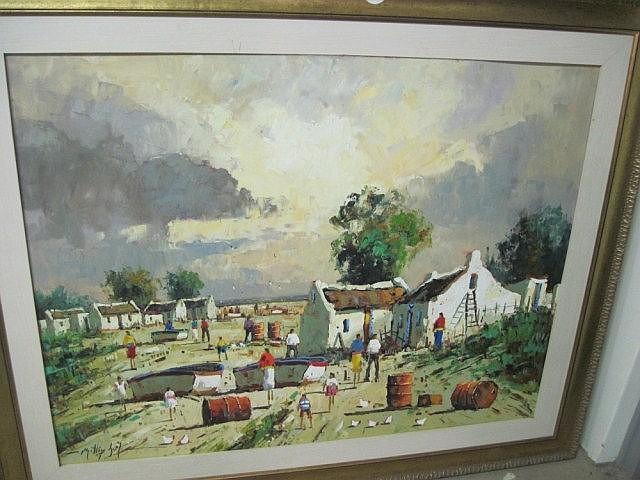 Philip Britz Oil Painting