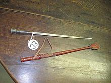 Leather Swagger Stick