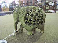 Stone Carved Elephant