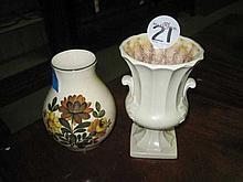 2 Ceramic Vases