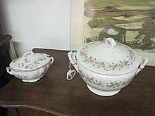 2 Porcelain Tureens