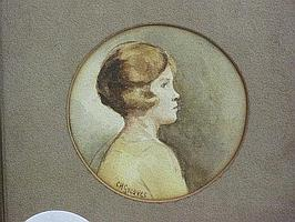 Constance H Greaves Watercolour (1882-1966)