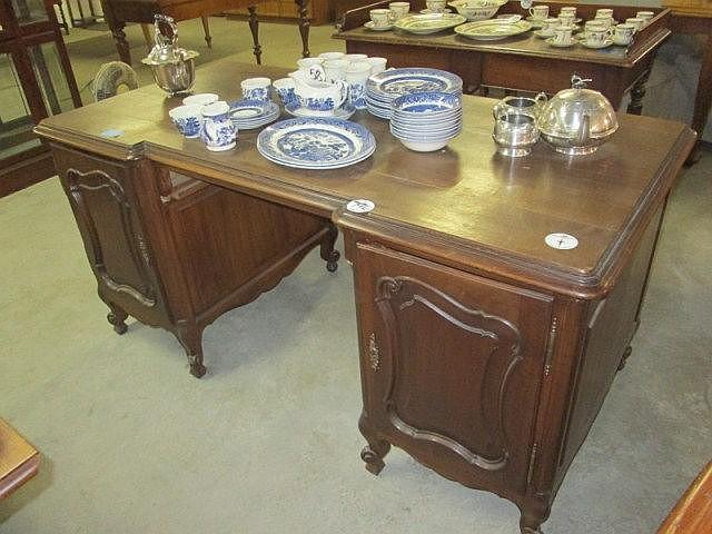 19thc French Walnut Desk