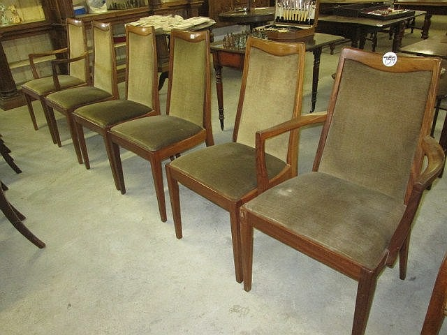 6 G Plan Dining Chairs
