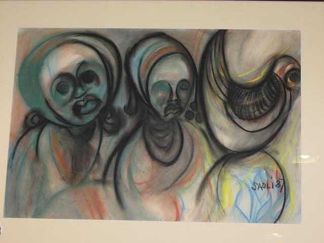 Winston CM Saoli Pastel (1950-1995): Titled
