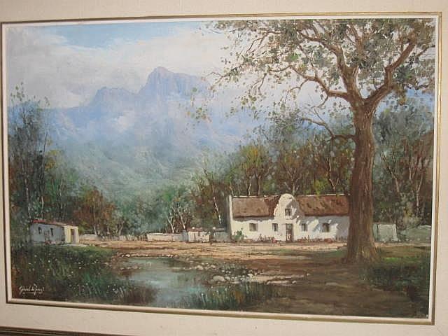 Gabriel de Jongh Oil Painting (1913-2004)
