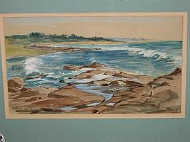 Natalie Field Watercolour (1898 -1977)