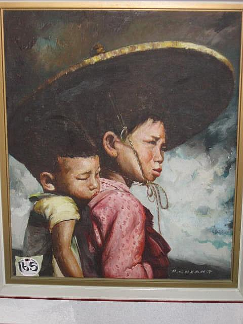 H Cheang Oil Painting