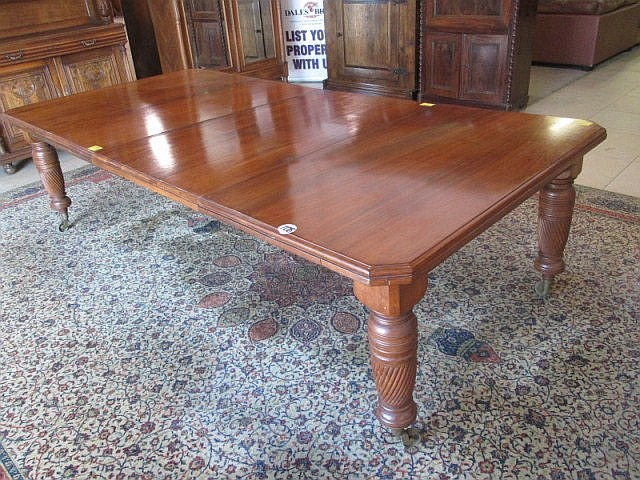 Victorian Mahogany Extension Dining Table