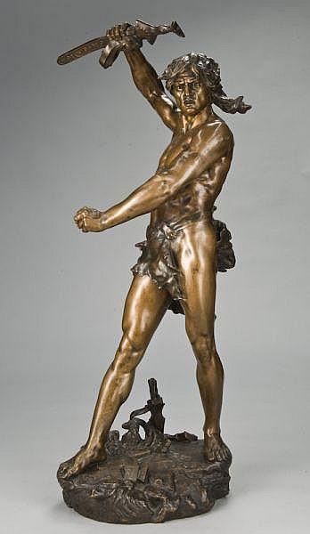 Henri Desire Gauquie bronze