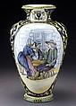 Henriot Quimper Decor Riche vase,