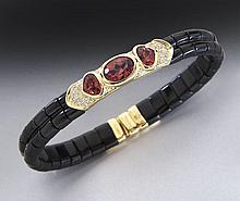 Marina Bulgari 18K, tourmaline and diamond