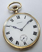14K gold E. Howard pocket watch