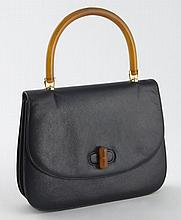 Gucci navy vintage clutch