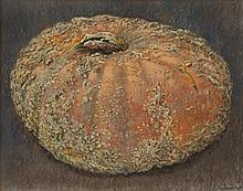 "Jean Claude Courtat ""Un Potiron (A Pumpkin)"""
