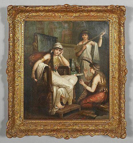 Sir Charles Lock Eastlake oil painting on canvas,