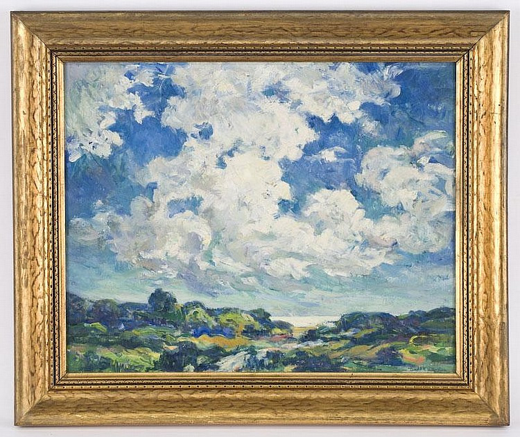 Donald Frederick Witherstine oil painting on