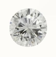 4.01 ct. (GIA) round brilliant cut diamond,