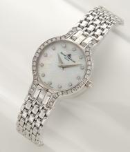 Baume & Mercier 14K white gold and diamond watch