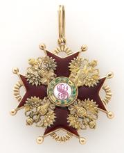 Imperial Russian gold and enamel Order of Saint