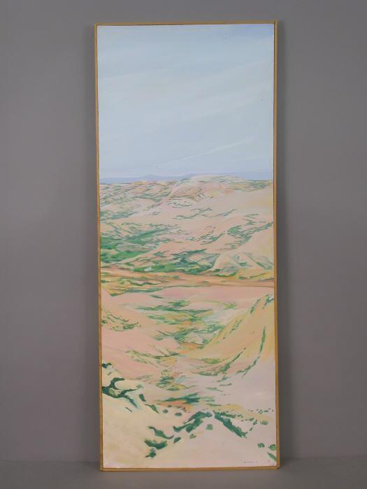 Signed William Berra (LR) oil on canvas landscape