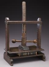 18th C. French book press,