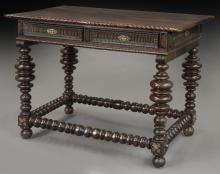 Late 19th C. Portuguese desk,