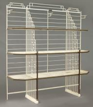 French Art Deco bakers rack