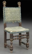 16th C. Renaissance style Italian side chair