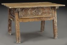 Early 19th C. Spanish Colonial console table